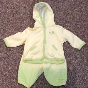 Baby Pants & Jacket Set